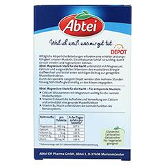ABTEI Magnesium 400 (Stark für die Nacht) 30 Stück - Rückseite