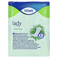 TENA LADY mini plus Einlagen 16 Stück - Rückseite