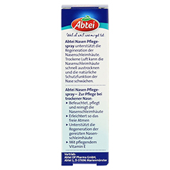 ABTEI Nasen Pflegespray (Mit reinem Sesamöl) 20 Milliliter - Rückseite