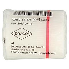 DRACOSUMBI Fixierbinde 4 cmx4 m weiß 1 Stück - Rückseite