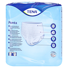 TENA PANTS Discreet L 95-125 cm Einweghose 7 Stück - Rückseite