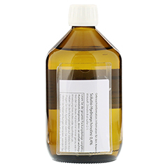 SOLUTIO HYDROXYCHIN. 0,4% 500 Milliliter N3 - Rückseite