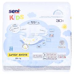 SENI Kids Junior extra 16-30 kg Inkontinenzhose 30 Stück - Rückseite
