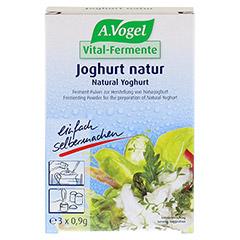 VITAL FERMENT Joghurt natur Beutel 3x0.9 Gramm - Vorderseite