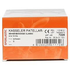 KASSELER Patellarsehnenbandage CLASSIC schw.07228 1 Stück - Unterseite