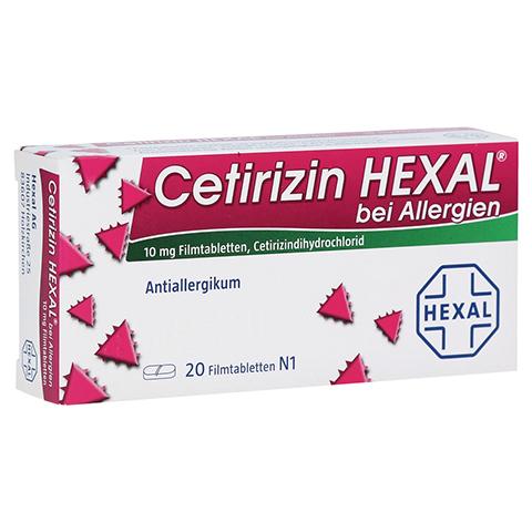 Cetirizin HEXAL bei Allergien 20 Stück N1