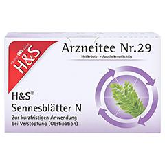 H&S Sennesblätter N 20x1.0 Gramm N1 - Vorderseite