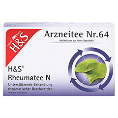 H&S Rheumatee N 20x2.0 Gramm - Vorderseite