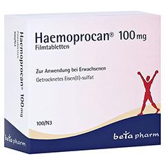 Haemoprocan 100mg 100 Stück N3