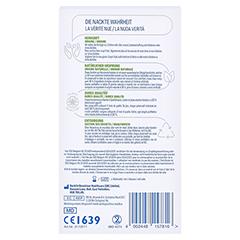 DUREX naturals Kondome mit Gleitgel wasserbasiert 2x10 Stück - Rückseite