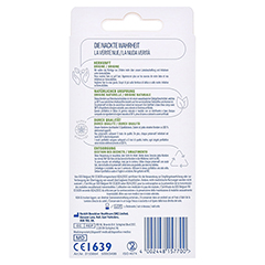 DUREX naturals Kondome mit Gleitgel wasserbasiert 10 Stück - Rückseite
