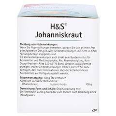 H&S Johanniskraut 20x2.0 Gramm - Linke Seite