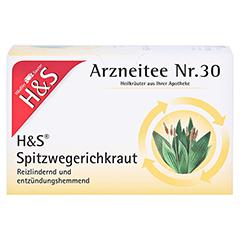 H&S Spitzwegerichkraut 20x1.5 Gramm - Vorderseite