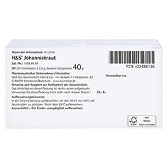 H&S Johanniskraut 20x2.0 Gramm - Unterseite
