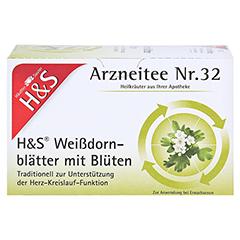 H&S Weißdornblätter mit Blüten 20x1.6 Gramm - Vorderseite