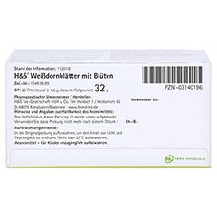 H&S Weißdornblätter mit Blüten 20x1.6 Gramm - Unterseite
