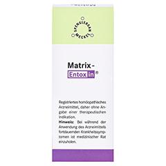 MATRIX-Entoxin Tropfen 50 Milliliter N1 - Rückseite