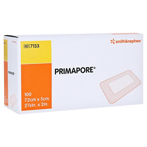 PRIMAPORE 5x7,2 cm Wundverband steril 100 Stück