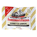 FISHERMANS FRIEND Honey & Lemon ohne Zucker Pasti. 25 Gramm