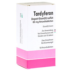 Tardyferon Depot-Eisen(II)-sulfat 80mg 50 Stück N2