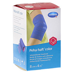 PEHA-HAFT Color Fixierbinde latexf.8 cmx4 m blau 1 Stück