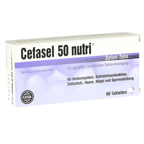 CEFASEL 50 nutri Selen-Tabs 60 Stück