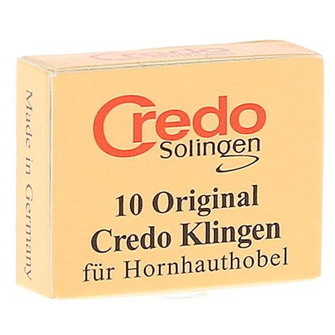 CREDO Hornhaut Klingen 10 Stück