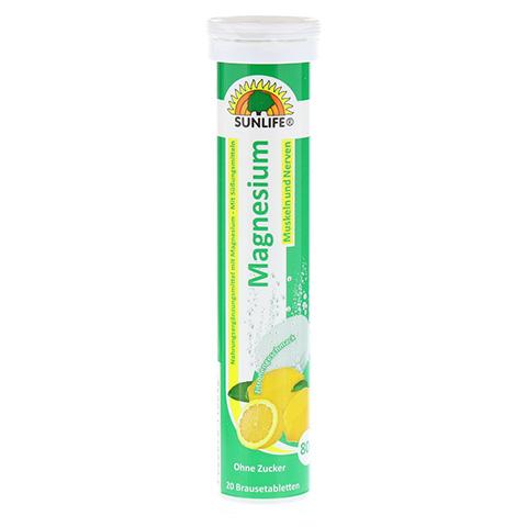 SUNLIFE Magnesium Brausetabletten 20 Stück