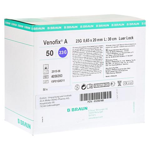 VENOFIX A Venenpunktionsbest.23 G 0,65 mm blau 50 Stück