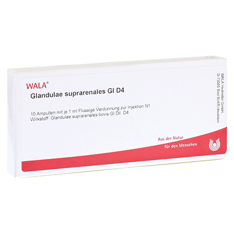 GLANDULAE SUPRARENALES GL D 4 Ampullen 10x1 Milliliter N1
