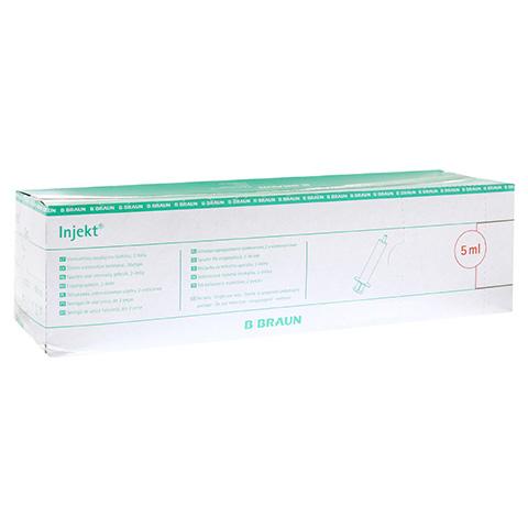 Braun Injekt Spritze 5 ml Luer exzentrisch 100x5 Milliliter