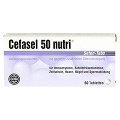 CEFASEL 50 nutri Selen-Tabs 60 Stück - Vorderseite