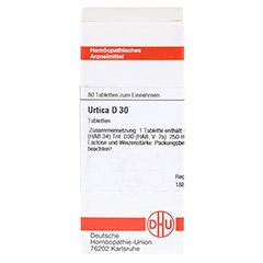 URTICA D 30 Tabletten 80 Stück - Vorderseite