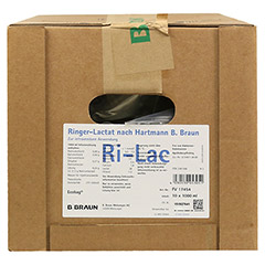 RINGER LACTAT n.Hartm.B.Braun Ecobag Infusionslsg. 10x1000 Milliliter N2 - Vorderseite