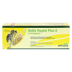 GELEE ROYAL plus Z im Honigwein Trinkampullen 30x15 Milliliter - Vorderseite
