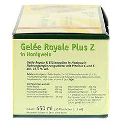 GELEE ROYAL plus Z im Honigwein Trinkampullen 30x15 Milliliter - Linke Seite