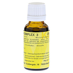 MERIDIANKOMPLEX 3 Tropfen zum Einnehmen 20 Milliliter N1 - Rechte Seite