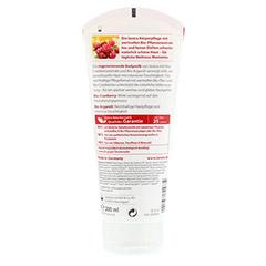 LAVERA Bodymilk Bio-Cranberry & Bio-Arganöl 200 Milliliter - Rückseite