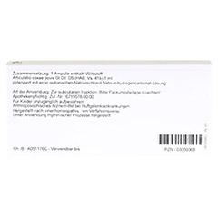 ARTICULATIO coxae GL D 5 Ampullen 10x1 Milliliter N1 - Rückseite