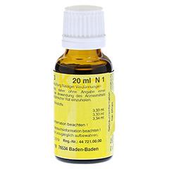 MERIDIANKOMPLEX 3 Tropfen zum Einnehmen 20 Milliliter N1 - Rückseite