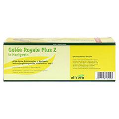 GELEE ROYAL plus Z im Honigwein Trinkampullen 30x15 Milliliter - Rückseite