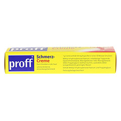 proff® Schmerzcreme 50mg/g 100 Gramm N2 - Oberseite