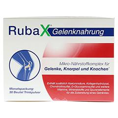 RUBAX Gelenknahrung Pulver 30 Stück - Oberseite