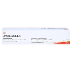 ARNICA COMP.Gel 100 Gramm N2 - Oberseite