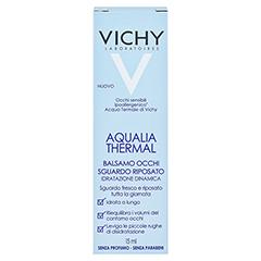 VICHY AQUALIA Thermal belebender Augenbalsam 15 Milliliter - Rückseite