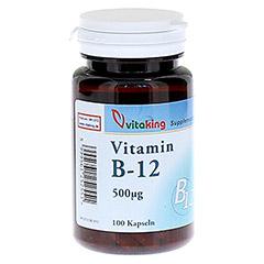 VITAMIN B12 500 µg Kapseln 100 Stück
