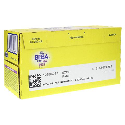 Nestle BEBA PRO HA Pre trinkfertig 8x200 Milliliter