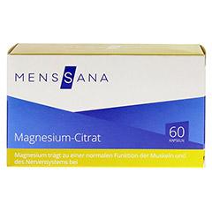 Magnesiumcitrat Menssana Kapseln 60 Stück - Vorderseite