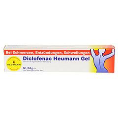 Diclofenac Heumann 50 Gramm N1 - Vorderseite