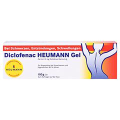 Diclofenac Heumann 100 Gramm N2 - Vorderseite